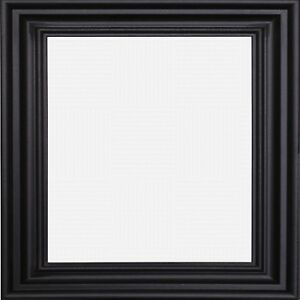 Details About Black Square Photo Picture Frame Poster Frames Swept Design Wooden Decoration