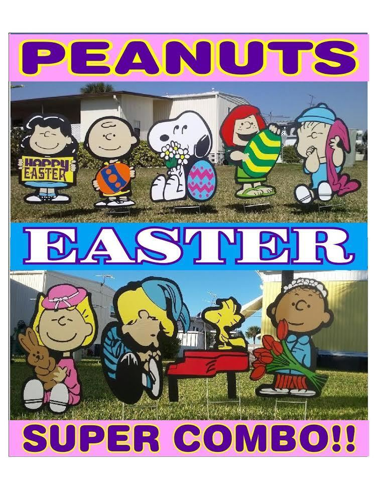 Peanuts outdoor Easter SUPER COMBO COMBO COMBO Christmas valentine's decorations ce421f