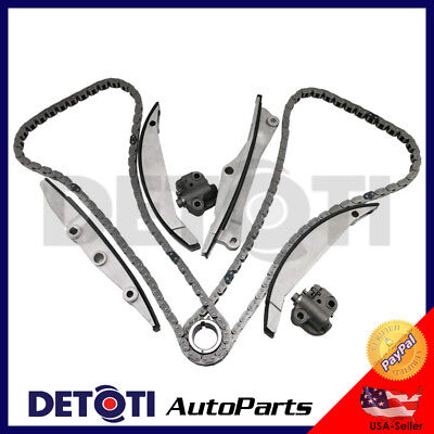 Timing Chain Kit For 95 00 Ford Contour Mercury Cougar Lincoln LS 2 5L 3 0L V6 EBay