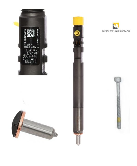 Einspritzdüse Injektor DELPHI Mercedes W204 W211 C E 200 220 CDI A6460700987