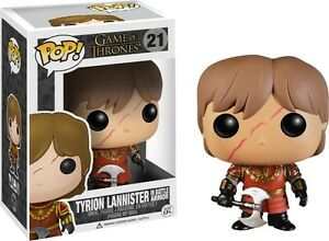 Game of Thrones - Tyrion Lannister (Battle Armour) Pop! Vinyl Figure * NEW