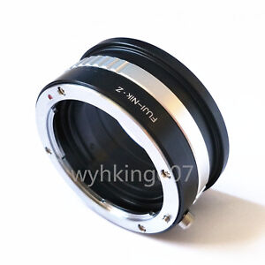 Details about Fujica X Old Fuji AX mount lens to Nikon Z Mirrorless Full  Frame Z6 Z7 Adapter