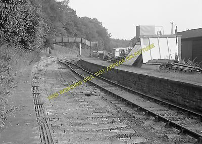 Whitecroft 3 Lydney Line. Lydbrook Parkend Railway Station Photo