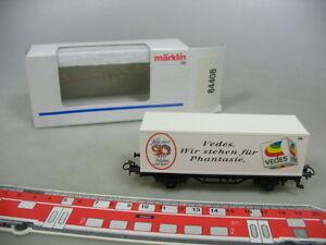 AD42-0-5-Maerklin-Marklin-H0-84408-Containerwagen-Vedes-90-Jahre-NEUW-OVP