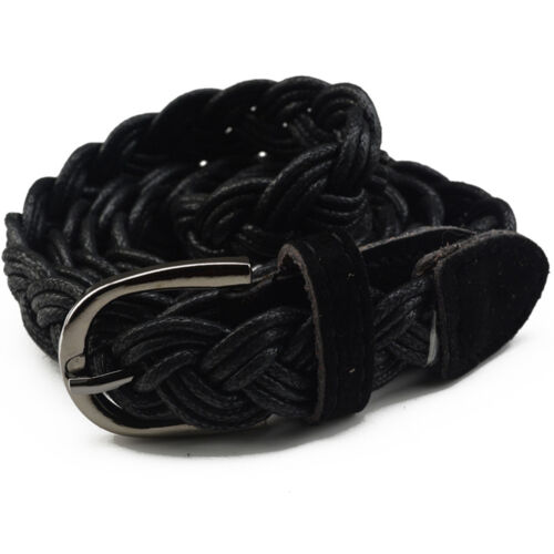 Belt Braided People/'s Genuine Leather Casual Belt Different Colors TO