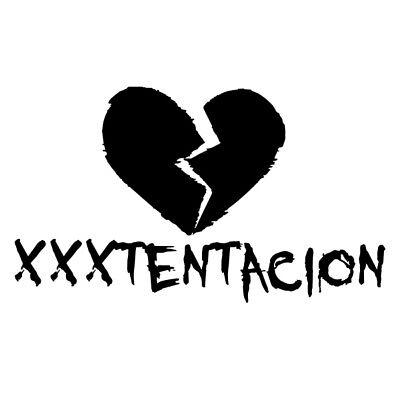 XXX Tentacion vinyl decal sticker for Car//Truck Window computer mac rap music