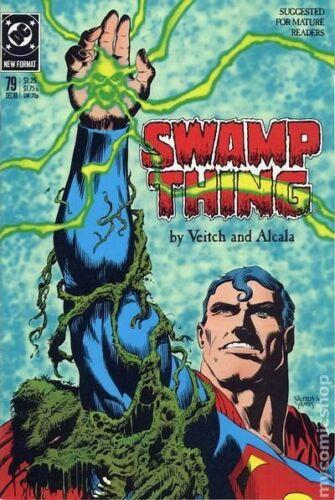 Swamp Thing #79 FN 6.5 1988 Stock Image