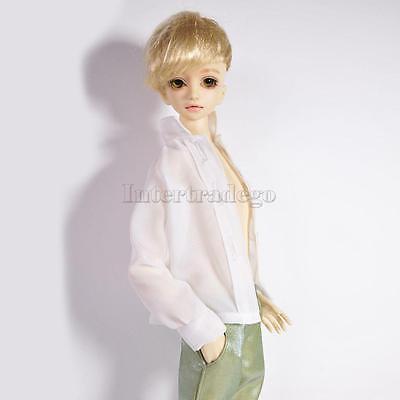 New Long Sleeve Chiffon Shirt for 1/4 BJD SD DD AS DZ LUTS Dollfie Clothes