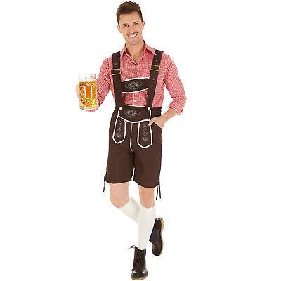 Herrenkostüm Trachten Set München Kostüm Männer Karneval Fasching Halloween