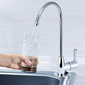 Details About 1 4 Chrome Drinking Water Filter Faucet Reverse Osmosis Sink Kitchen Tap