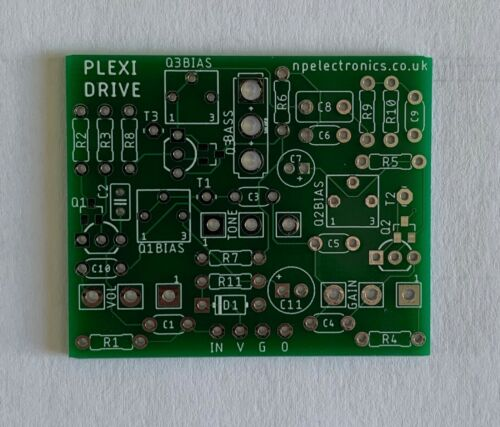 DIY Guitar FREE UK P/&P Plexi Drive Marshall in a box style Overdrive PCB