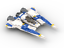 Custom LEGO Star Wars Mandalorian Fang Fighter Instructions and Parts List Only