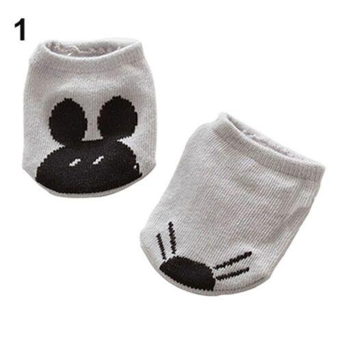 Infant Baby Asymmetric Animal Anti-slip Short Socks Rabbit Rat Bear Cartoon