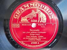78rpm VASA PRIHODA Violin - BAZZINI La Ronde Des Lutins - GERMAN GRAMMOPHON ED1