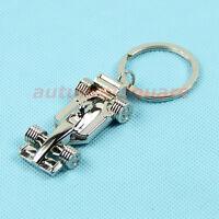 Creative Metal Alloy 3D F1 Cars model Key Ring Chain Keychain Keyfob Unique gift