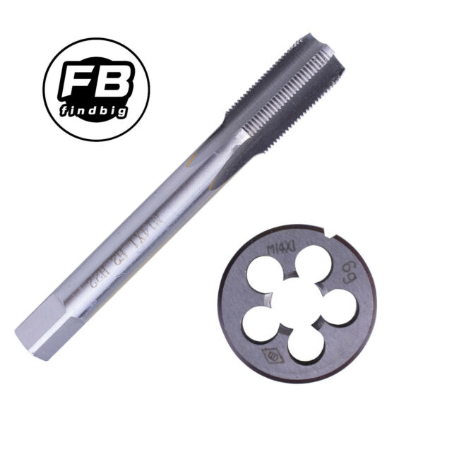 HSS M25 x 1mm Tap and M25 x 1.0mm Die Metric Thread Right Hand