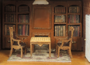 Cynthia/'s Study//Game Room for Dutch Baby House  Kit CHM