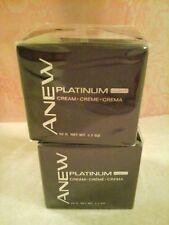 AVON ANEW Platinum Night Cream - TWO!  SEALED!!