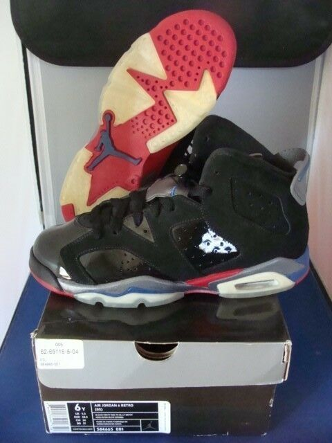 Nike Jordan Retro 6 Pistons Size 6 NICE Lightly Worn