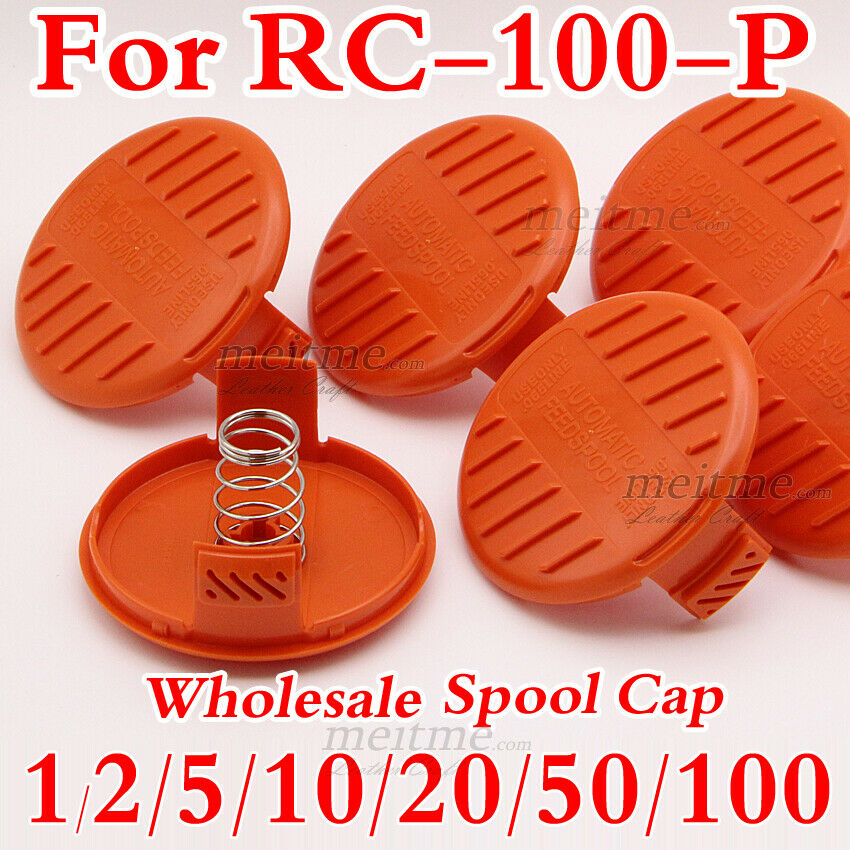 For AF-100 String Trimmer Line Weed Eater Replacement RC-100-P Spool Cap Covers