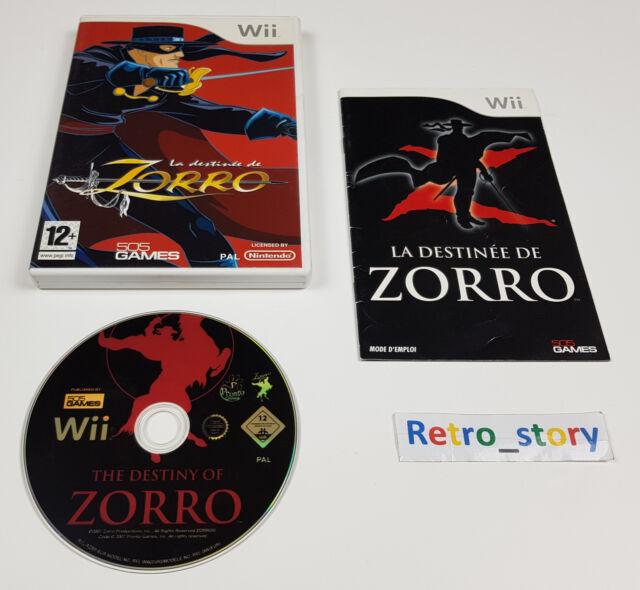 Nintendo Wii - La Destinée De Zorro - PAL - FRA