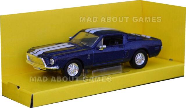 Shelby GT 500-KR Coche Deportivo Modelo 1968 1//43RD Gris empaquetado problema bxd K8967Q ~ # ~