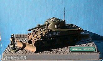 DIORAMA SHERMAN M4 DOZER VEREM 1 50 US ARMY 2ND WAR