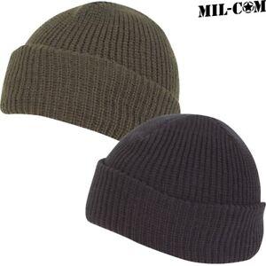 MIL-COM MENS ARMY STRETCHY BOB HAT MILITARY BEANIE ... f15cb89a33be