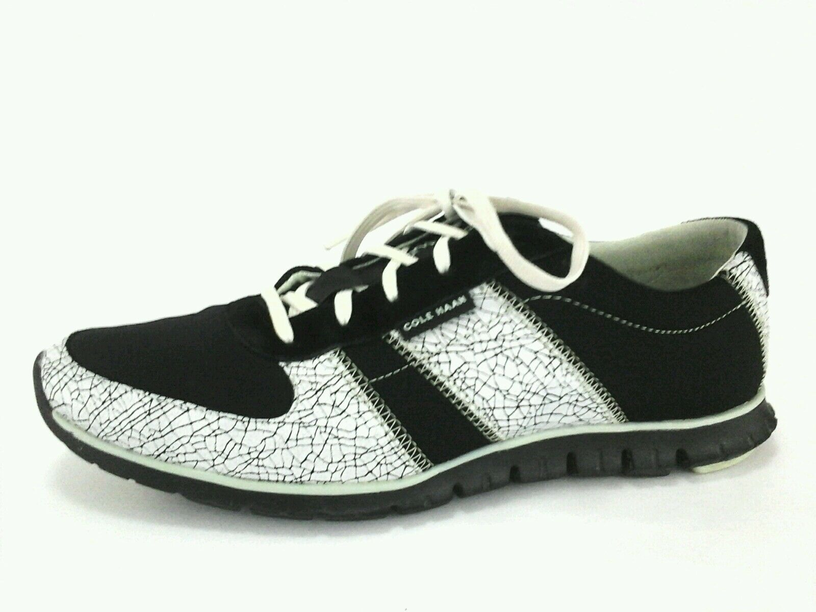 COLE HAAN ZERO GRAND chaussures Casual blanc sneakers noir blanc Casual femmes 9.5 EU 40 160 2a0ae7