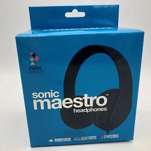 Digital-Basics-Sonic-Maestro-Headphones-Black-New