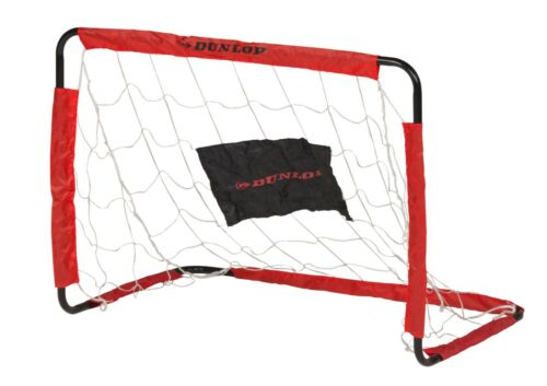 Dunlop Transportables Fussballtor Torwand Netz flexibel groß 200 x 148 x 60 cm