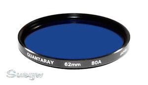 62mm-Quantaray-80A-Lens-Filter
