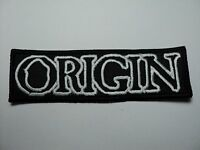 Origin Logo Embroidered Patch
