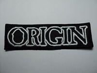 Origin Logo Embroidered Patch