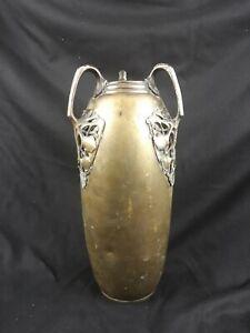 Sublime-vase-art-nouveau-travail-de-poilus