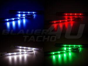2x-LED-Innenraumbeleuchtung-Blau-Rot-Grun-Ford-KA-Kuga-Maverick-Mondeo