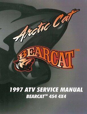 Arctic Cat 1998 ATV 300 2x4 and 4x4 service repair shop manual in binder