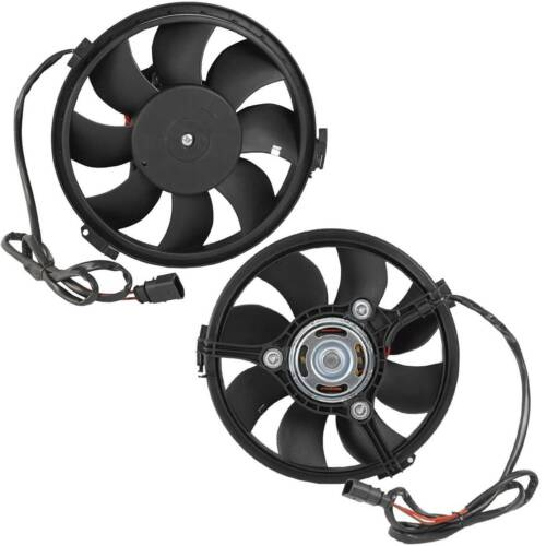 New Auxiliary Electric Radiator Cooling Fan fits VW Passat 01-05 Audi A6 99-00