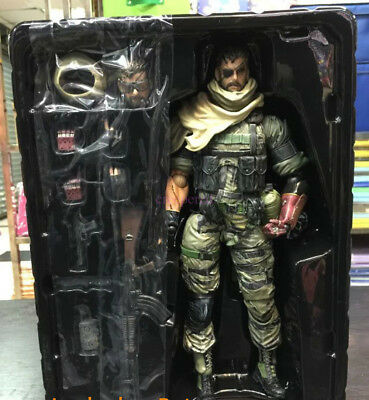 Play Arts Kai Metal Gear Solid V The Phantom Pain Snake Action Figure Toy Doll