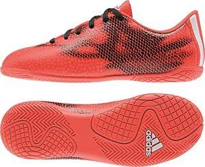 Details zu Adidas F5 IN Kinder Fußballschuhe Hallenschuhe, Indoorschuhe rot schw. B40977