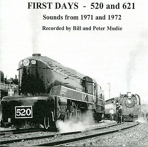 Steam Train Sound Effects CD - FIRST DAYS 520 and 621 ...