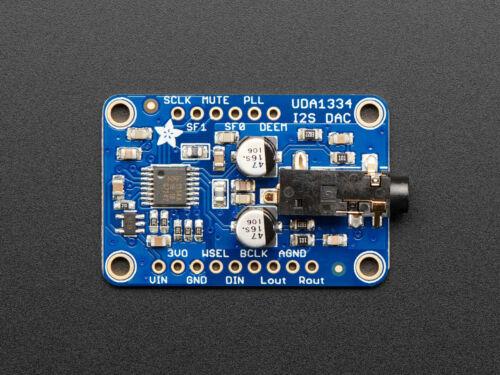 par exemple pour Raspberry Pi 3678 Adafruit i2s Stéréo Décodeur uda1334a dérivation Board
