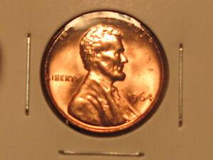 1964 P Lincoln Memorial Cent BU Brilliant Uncirculated OBW  Bank Roll