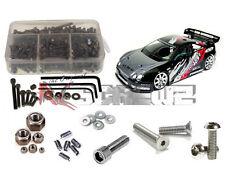 RC ScrewZ ass002 Associated Nitro TC3 RTR/Factory Stainless Steel Screw Kit