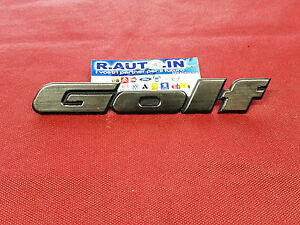 VW-GOLF-TARGHETTA-EMBLEM-Badge-fregio-034-GOLF-034