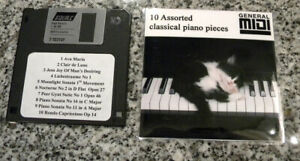 Details about Assorted Classical music for MIDI Digital Player Pianos with  Floppy Disk Drive