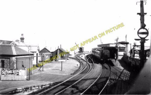 7 SE/&CR. Folkestone Harbour Railway Station Photo Dover Line