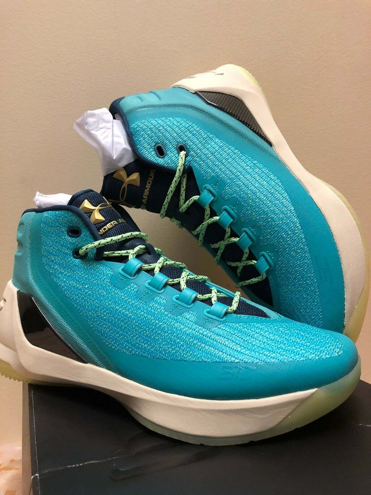 Under Armour Curry Curry Curry 3 Neptune 1269279-370 LIMITED 46ed4c