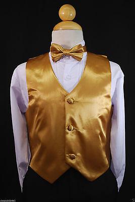 Children Teen Boys LILAC VEST BOW TIE for Wedding Formal Suits Tuxedo Sz S-28