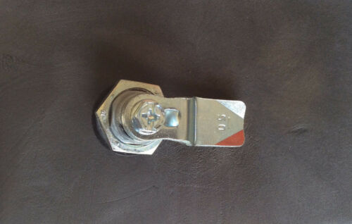 Part # 060.4.4.120 Stainless steel cam lock assembly with Cam Mesan